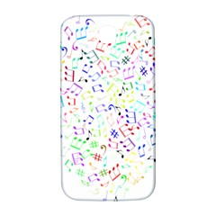 Prismatic Musical Heart Love Notes Rainbow Samsung Galaxy S4 I9500/i9505  Hardshell Back Case