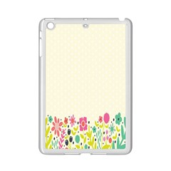 Spring Floral Flower Rose Tulip Leaf Flowering Color Ipad Mini 2 Enamel Coated Cases