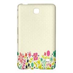 Spring Floral Flower Rose Tulip Leaf Flowering Color Samsung Galaxy Tab 4 (8 ) Hardshell Case