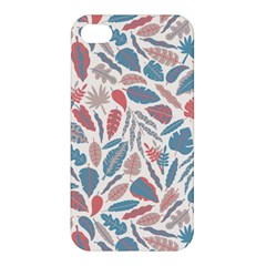 Spencer Leaf Floral Purple Pink Blue Rainbow Apple Iphone 4/4s Premium Hardshell Case by Alisyart