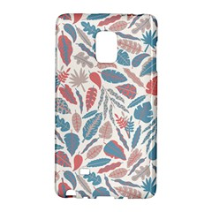 Spencer Leaf Floral Purple Pink Blue Rainbow Galaxy Note Edge by Alisyart
