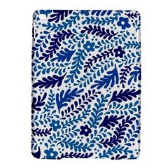 Spring Flower Leaf Blue Ipad Air 2 Hardshell Cases by Alisyart