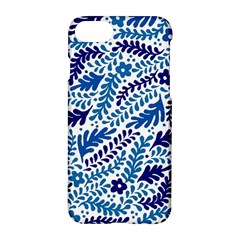 Spring Flower Leaf Blue Apple Iphone 7 Hardshell Case
