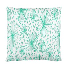 Spring Floral Green Flower Standard Cushion Case (one Side)
