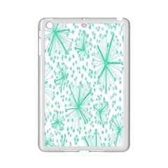 Spring Floral Green Flower Ipad Mini 2 Enamel Coated Cases by Alisyart