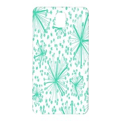 Spring Floral Green Flower Samsung Galaxy Note 3 N9005 Hardshell Back Case