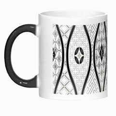 Public Domain Grey Star Morph Mugs