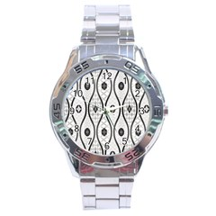 Public Domain Grey Star Stainless Steel Analogue Watch