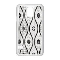 Public Domain Grey Star Samsung Galaxy S5 Case (white)