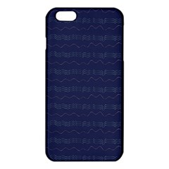 Summers Night Wave Chevron Blue Iphone 6 Plus/6s Plus Tpu Case