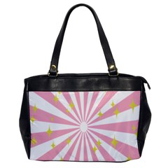 Star Pink Hole Hurak Office Handbags