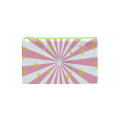Star Pink Hole Hurak Cosmetic Bag (xs)