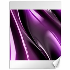 Purple Fractal Mathematics Abstract Canvas 36  X 48   by Amaryn4rt