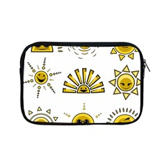 Sun Expression Smile Face Yellow Apple Ipad Mini Zipper Cases by Alisyart
