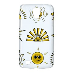 Sun Expression Smile Face Yellow Galaxy S4 Active