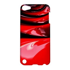Red Fractal Mathematics Abstract Apple Ipod Touch 5 Hardshell Case by Amaryn4rt