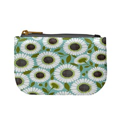 Sunflower Flower Floral Mini Coin Purses