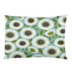 Sunflower Flower Floral Pillow Case (two Sides)