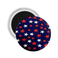 Star Red White Blue Sky Space 2 25  Magnets by Alisyart