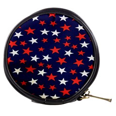 Star Red White Blue Sky Space Mini Makeup Bags