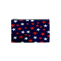 Star Red White Blue Sky Space Cosmetic Bag (small)  by Alisyart