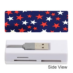 Star Red White Blue Sky Space Memory Card Reader (stick)