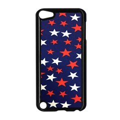 Star Red White Blue Sky Space Apple Ipod Touch 5 Case (black)