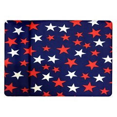 Star Red White Blue Sky Space Samsung Galaxy Tab 10 1  P7500 Flip Case