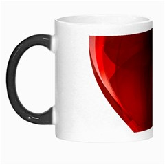 Heart Gradient Abstract Morph Mugs by Amaryn4rt