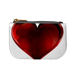 Heart Gradient Abstract Mini Coin Purses by Amaryn4rt