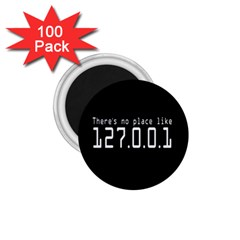 There s No Place Like Number Sign 1 75  Magnets (100 Pack)