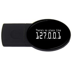 There s No Place Like Number Sign Usb Flash Drive Oval (2 Gb) by Alisyart