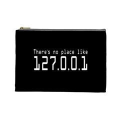 There s No Place Like Number Sign Cosmetic Bag (large)  by Alisyart