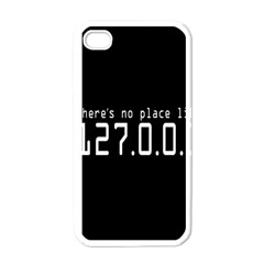 There s No Place Like Number Sign Apple Iphone 4 Case (white)