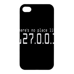 There s No Place Like Number Sign Apple Iphone 4/4s Hardshell Case