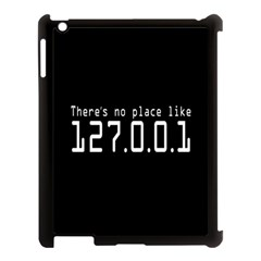There s No Place Like Number Sign Apple Ipad 3/4 Case (black)