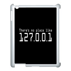 There s No Place Like Number Sign Apple Ipad 3/4 Case (white)