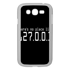 There s No Place Like Number Sign Samsung Galaxy Grand Duos I9082 Case (white) by Alisyart
