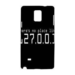 There s No Place Like Number Sign Samsung Galaxy Note 4 Hardshell Case by Alisyart