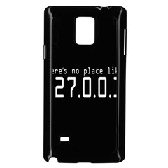 There s No Place Like Number Sign Samsung Galaxy Note 4 Case (black)