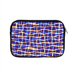 Surface Pattern Net Chevron Brown Blue Plaid Apple Macbook Pro 15  Zipper Case by Alisyart