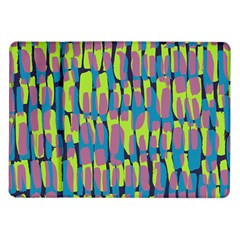 Surface Pattern Green Samsung Galaxy Tab 10 1  P7500 Flip Case