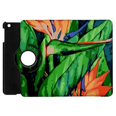Flowers Art Beautiful Apple Ipad Mini Flip 360 Case