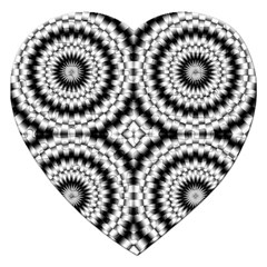 Pattern Tile Seamless Design Jigsaw Puzzle (heart) by Amaryn4rt