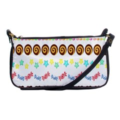 Sunflower Plaid Candy Star Cocolate Love Heart Shoulder Clutch Bags