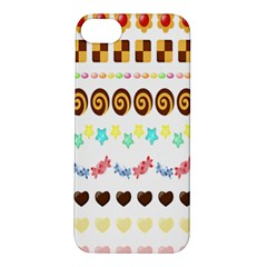 Sunflower Plaid Candy Star Cocolate Love Heart Apple Iphone 5s/ Se Hardshell Case