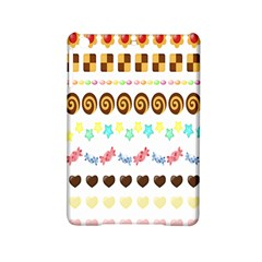 Sunflower Plaid Candy Star Cocolate Love Heart Ipad Mini 2 Hardshell Cases by Alisyart