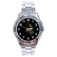 Skull Fantasy Dark Surreal Stainless Steel Analogue Watch by Amaryn4rt