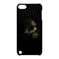 Skull Fantasy Dark Surreal Apple Ipod Touch 5 Hardshell Case With Stand by Amaryn4rt