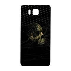 Skull Fantasy Dark Surreal Samsung Galaxy Alpha Hardshell Back Case by Amaryn4rt